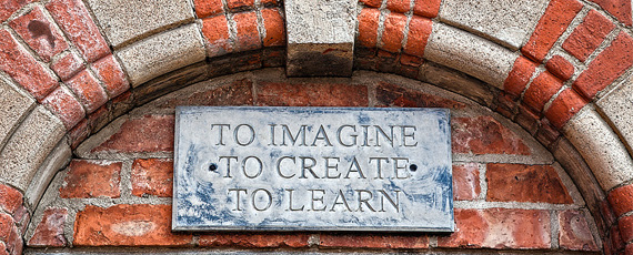 To Imagine, To Create, To Learn