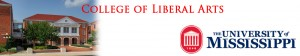 Liberal Arts POL-Leadership banner with Trent Lott Institute Building