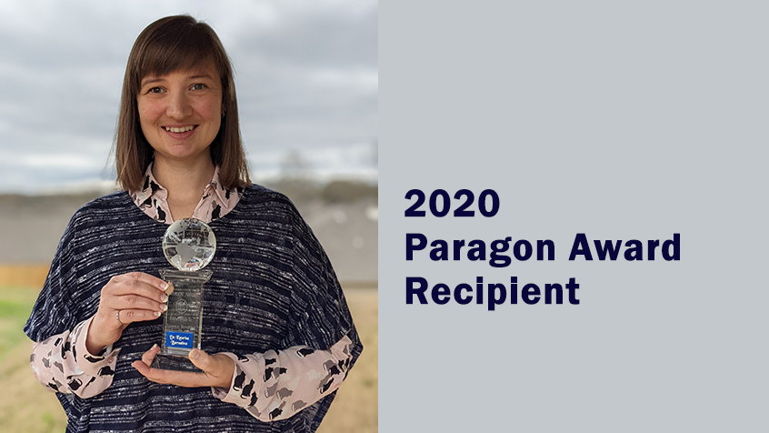 Paragon Award Recipient